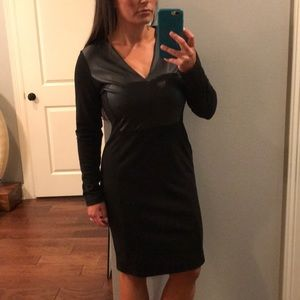 Black long sleeve dress LBD